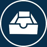 Symbol für die richtige Lagerung